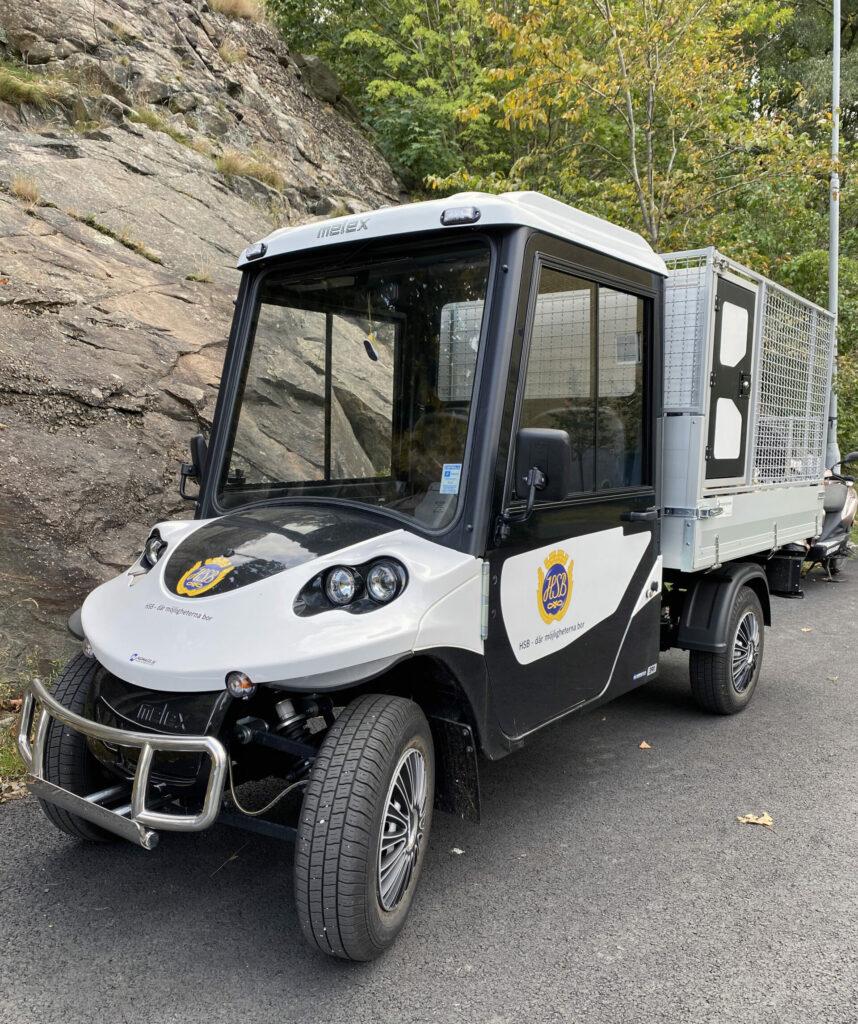 golfbil fordonsprofil