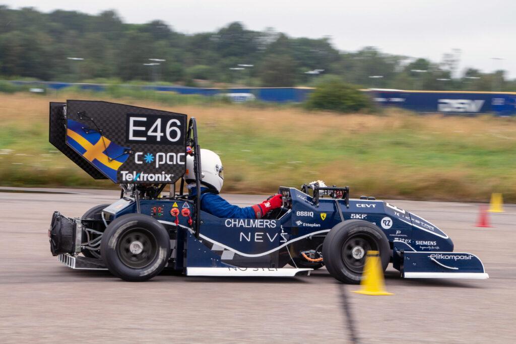 chalmers formula 1 fordonsprofil