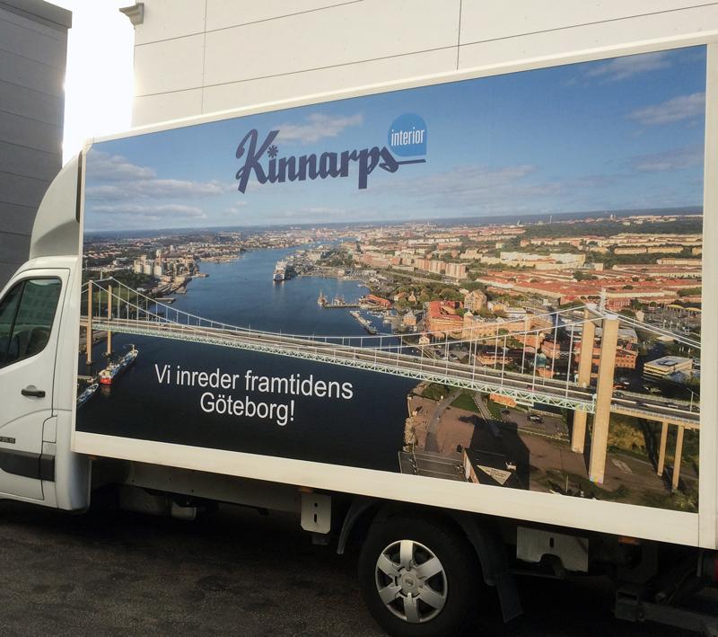 HELFOLIERING för KINNARPS