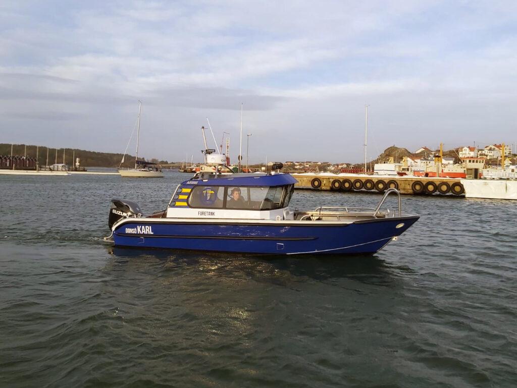 båt foliering fordonsprofil